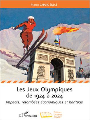 Couverture Les Jeux Olympiques de 1924 à 2024