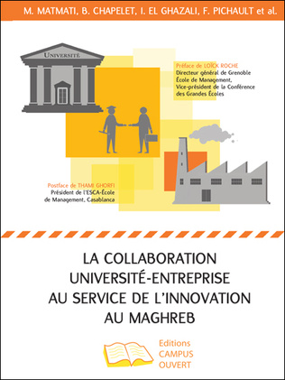 Couverture La collaboration université-entreprise au service de l'innovation au Maghreb