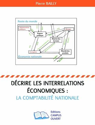 Couverture Décrire les interrelations économiques : la comptabilité nationale