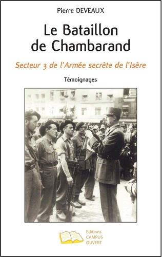 Couverture Le Bataillon de Chambarand