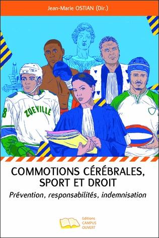 Couverture Commotions cérébrales, sport et droit