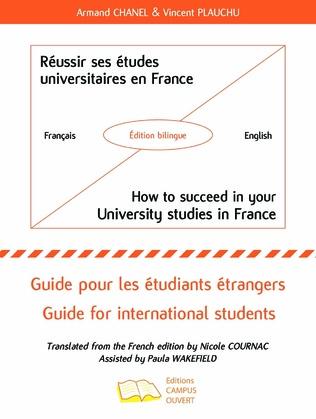 Couverture Réussir ses études universitaires en France - How to succeed in your University studies in France