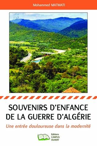 Couverture Souvenirs d'enfance de la guerre d'Algérie