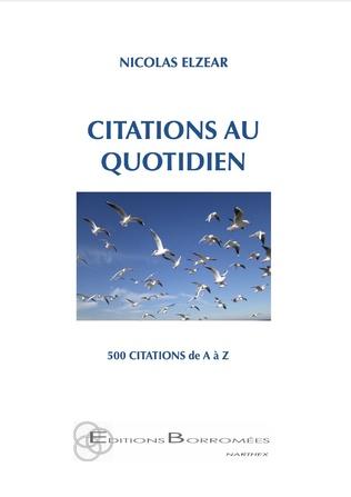 Couverture CITATIONS AU QUOTIDIEN