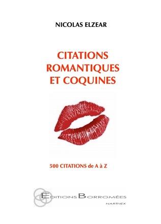 Couverture Citations romantiques et coquines