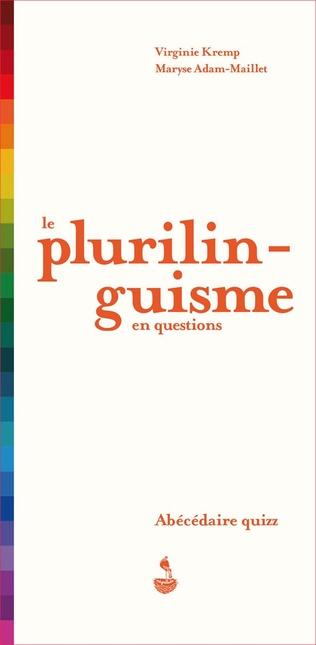 Couverture Le plurilinguisme en questions