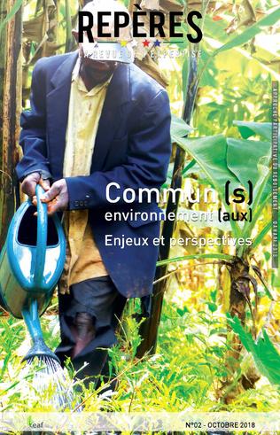 Couverture Commun (s) environnement (aux). Enjeux et perspectives