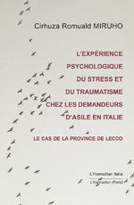 L'expérience psychologique du stress et du traumatisme chez les demandeurs d'asile - Cirhuza Romuald Miruho