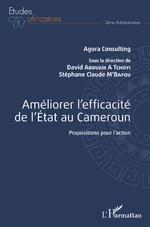 Améliorer l'efficacité de l'Etat au Cameroun - David Abouem à Tchoyi, Stéphane Claude M'Bafou