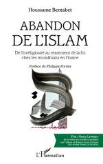 Abandon de l'islam - Houssame Bentabet