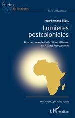 Lumières postcoloniales - Jean-Fernand Bédia