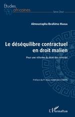 Le déséquilibre contractuel en droit malien - Almoustapha Ibrahima Maiga