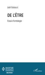 De l'Être - Joël Balazut