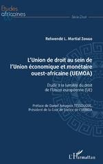 L'Union de droit au sein de l'Union économique et monétaire ouest-africaine (UEMOA) -