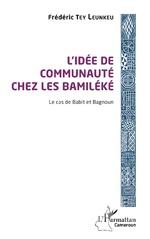 L'idée de communauté chez les Bamiléké -