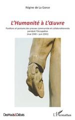 <em>L'Humanité </em>à <em>L'Oeuvre</em> - Régine de La Gorce