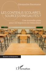 Les contenus scolaires, sources d'inégalités ? - Alexandre Baumann