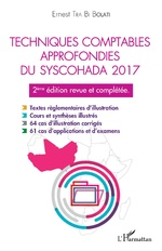 Techniques comptables approfondies du syschohada 2017 - Ernest Tra Bi Bolati