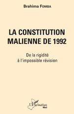 La constitution malienne de 1992 -