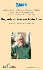 Regards croisés sur Alain Joxe -