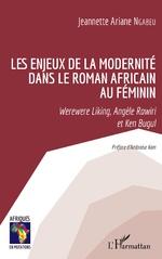 Les enjeux de la modernité dans le roman africain au féminin -