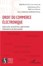 Droit du commerce électronique - Kodjo Ndukuma Adjayi, Ashley Diangienda Mvete, Blaise Loleka Ramazani, Bénédicte Mbambu