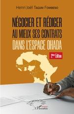 Négocier et rédiger au mieux ses contrats (2ème édition) - Henri-Joël Tagum Fombeno