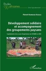 Développement solidaire et accompagnement des groupements paysans - Florent Kambasu Kasula