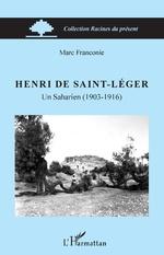Henri de Saint-Léger - Marc Franconie
