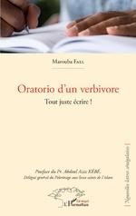 Oratorio d'un verbivore - Marouba Fall