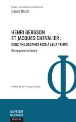 Henri Bergson et Jacques Chevalier - Daniel Bloch