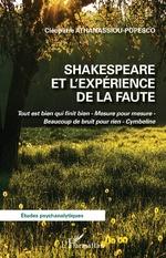 Shakespeare et l'expérience de la faute - Cléopâtre Athanassiou-Popesco