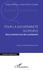 Pour la souveraineté du peuple - André Bellon, Jean-Pierre Crépin