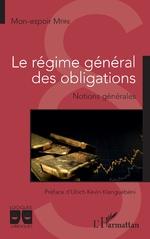 Le régime général des obligations - Mon-espoir Mfini