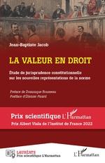 La valeur en droit - Jean-Baptiste Jacob