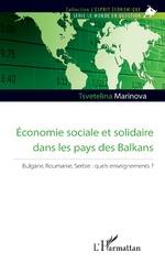 Economie sociale et solidaire dans les pays des Balkans - Tsvetelina Marinova