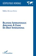Relations internationales africaines à l'aune du droit international - Pétillon Muyambi Dhena
