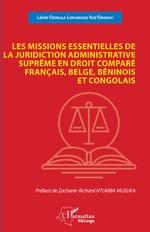Les missions essentielles de la juridiction administrative suprême - Léon Odimula Lofunguso Kos'Ongenyi