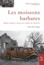 MOISSONS BARBARES - Marie-Pierre Hage