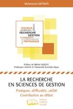 RECHERCHE EN SCIENCES DE GESTION (LA) - Mohammed Matmati
