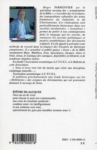 4eme L'Epître de Jacques