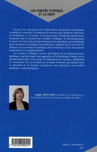 4eme Les comités d'éthique et le droit