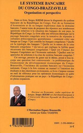 4eme Le système bancaire du Congo-Brazzaville