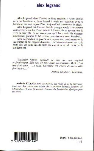 Alex Legrand (French Edition)