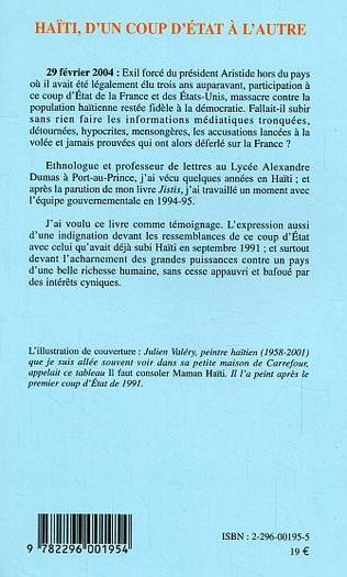 4eme Haïti, d'un coup d'état à l'autre