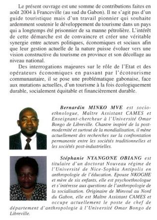 4eme Tourisme au Gabon
