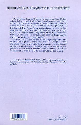 4eme Criticisme cartésien, synthèse newtonienne
