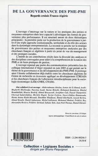 4eme Les PME en Algérie : dynamisme et limites institutionnelles