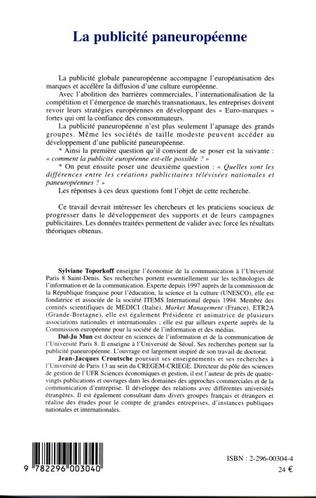 4eme La publicité paneuropéenne