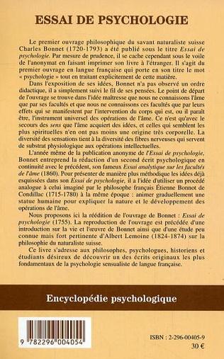 4eme Essai de psychologie
